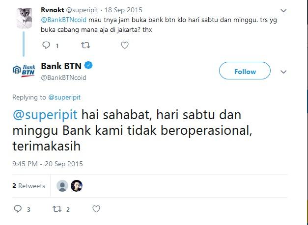 Weekend Banking BTN