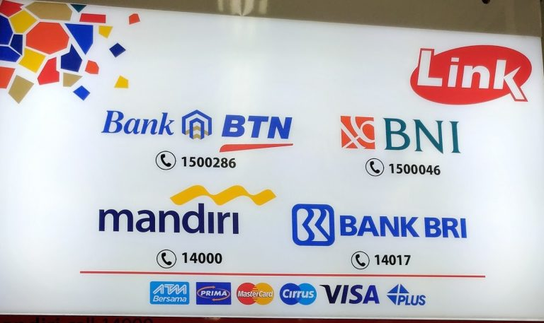 biaya transfer antar bank via atm link