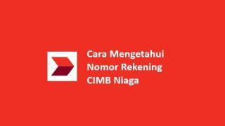 Cara Cek Nomor Rekening CIMB Niaga Offline Dan Online