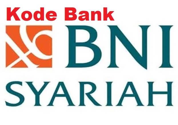 kode bank bni syariah