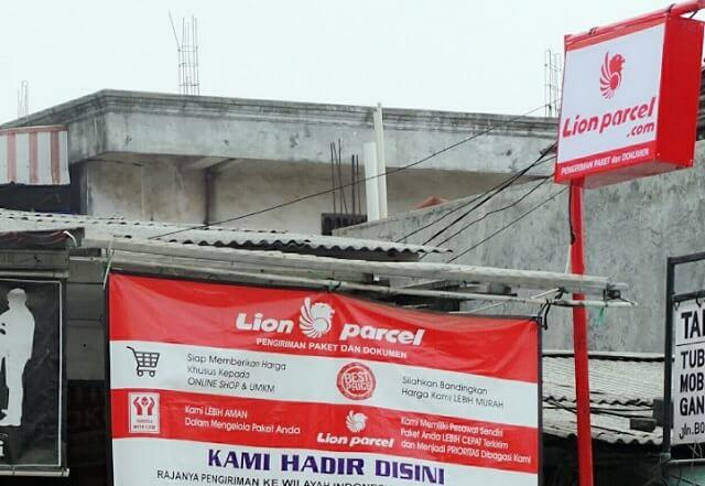lion parcel tanggerang