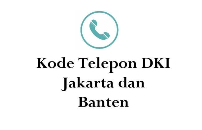 kode telepon jakarta