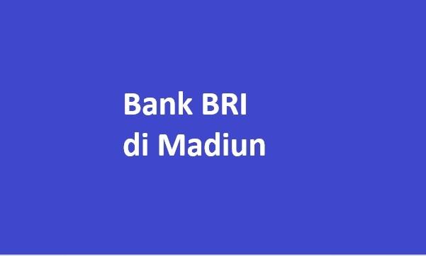 bank bri di madiun