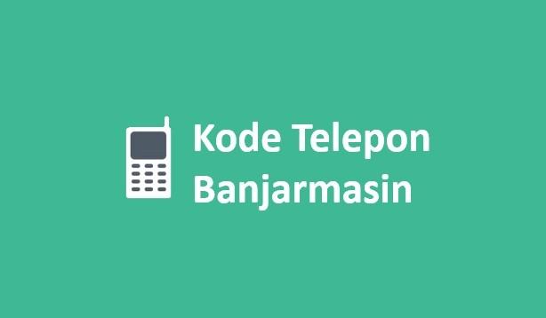 kode telepon banjarmasin