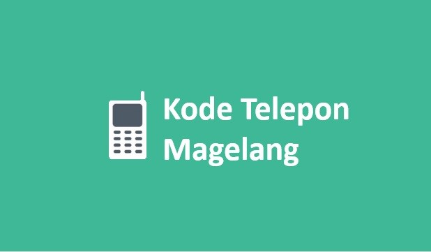 kode telepon magelang