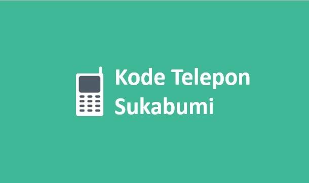 kode telepon sukabumi