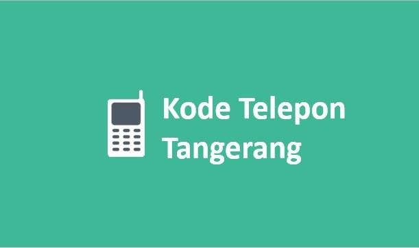 kode telepon tangerang