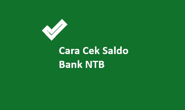 cek saldo bank ntb
